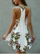 Asimetricna cvetna haljina sl. I