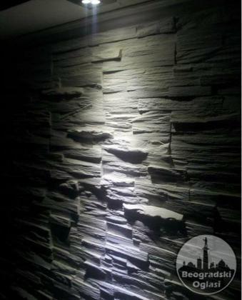 Dekorativni kamen na bazi gipsa