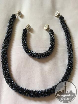 Nov Set ogrlica i narukvica