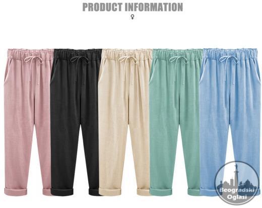 Pantalone za punije osobe Asyabuykal M-7XL sl.A