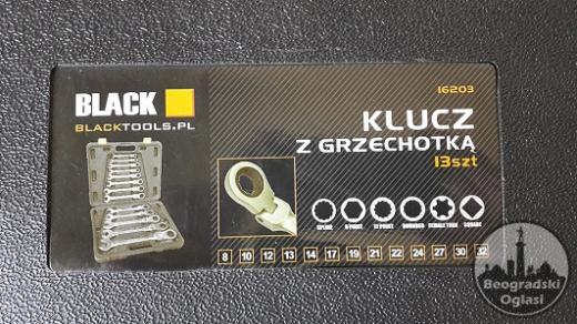 Set ključeva okasto-vilasti /13 kom. /8-32mm