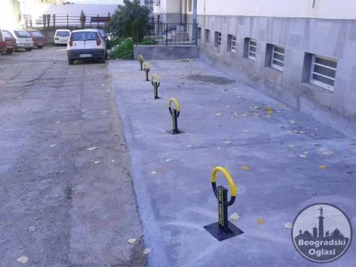 Parking stub blokada