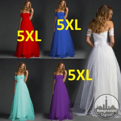 Maturske haljine Swokii za punije dame od S-5XL