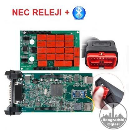 Dijagnostika Delphi ds150e NEC + Bluetooth NOVO!