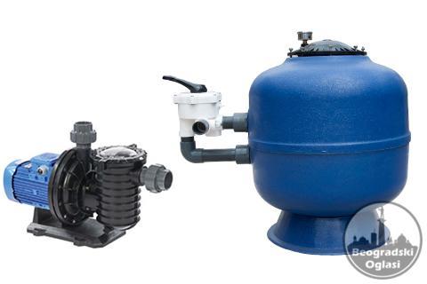 Pumpa za bazen i peščani filter
