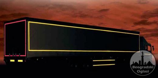 Reflektujuca Traka Za Kamion Sa Homologaciojom Na Metar