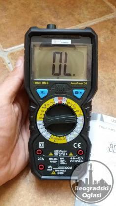 True RSM Multimetar- NCV (detekcija kablova u zidu)