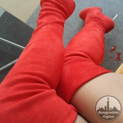 Cizmice preko kolena Asumer od 34-43