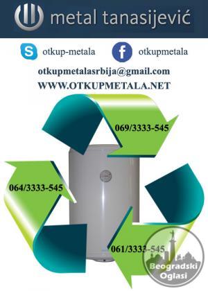Otkup bojlera starih za reciklazu