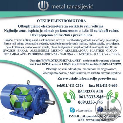 Otkup elektromotora za reciklazu