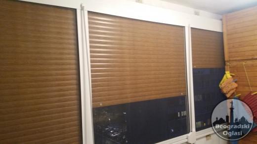 Roletne, komarnici, drvena i PVC stolarija