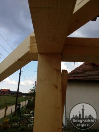 sanacije,popravke i adaptacije krovova, popravke objekata od drveta, i izrada novih krovova,