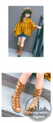 Sandale,gladijatorske cizme za devojcice br. od 26-35