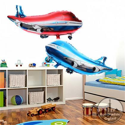 Crtani film 3D Airplane Mildew baloni Folija