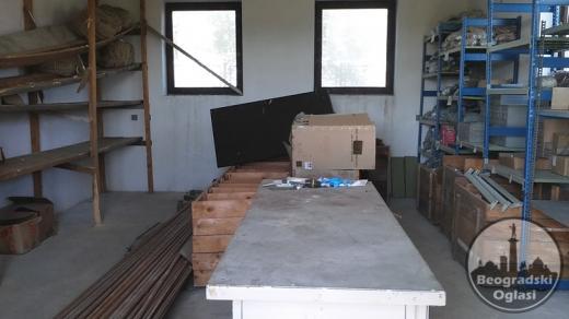 Proizvodna Hala na Meljaku, 700m2-dva objekta
