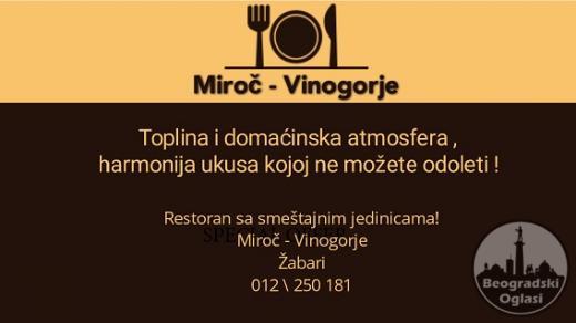Restoran Miroc