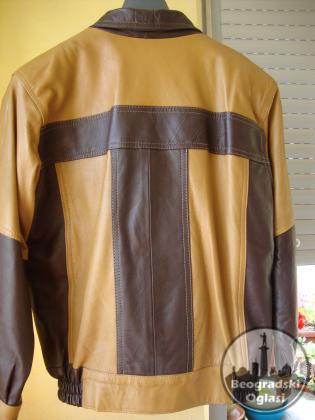 Prelepa kožna jakna teleći boks za dečake TUNIS
