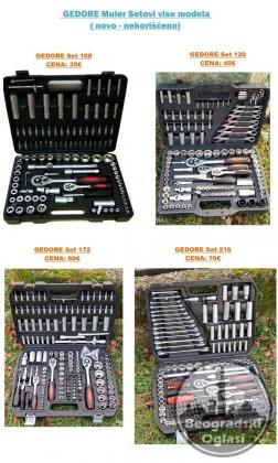Setovi alata i gedora ,NOVO