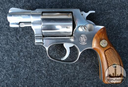 SMITH&WESSON Chiefs special kal:.38spec 5 metaka