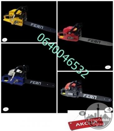 Veliki izbor benzinskih motornih testera FERN