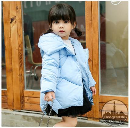 Zimska jakna za devojcice od 2-8 godina