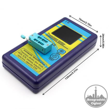 LCR metar,tranzistor tester