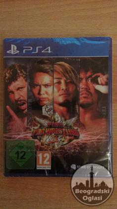 PS4: FIRE PRO WRESTLING WORLD