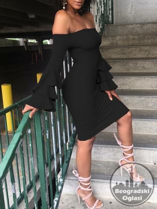 Elegntna seksi haljina WANGSCANIS S,M,L,XL