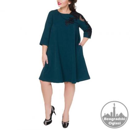 Haljina za punije dame WEIXINBUY XXL-6XL