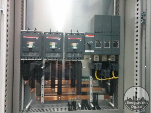 Izrada šemiranje elektro razvodnih ormana