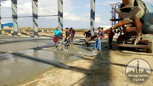 Izrada fero-betona-gletovanje