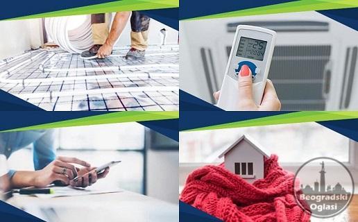 Proizvodnja,prodaja i ugradnja toplotnih sistema