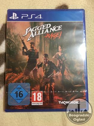 PS4: JAGGED ALLIANCE RAGE!