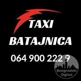 Taxi Batajnica - 064 900 222 9