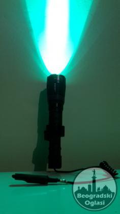 DEFINITIVNO Najbolja zelena Profi Lampa za Lov 507nm PRO X76