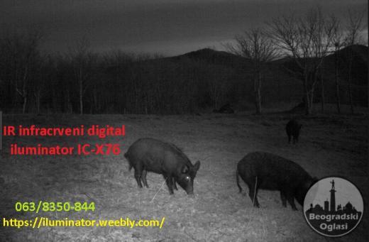 DEFINITIVNO najbolji IC 940nm X76 Night Vision Nocna Optika