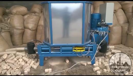 Hidraulična briket presa od 200 - 300 kg/h