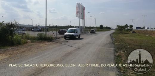 Plac Privredna zona - Ibarska magistrala - Obilaznica preko puta Orlovace  Rakovica 6500 eu / ar
