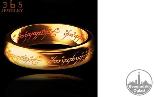 The Lord of the rings - pozlacen prsten