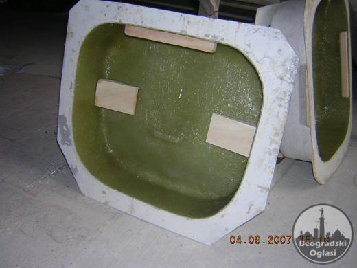 Izrada i remont KALUPA i proizvoda od poliestera