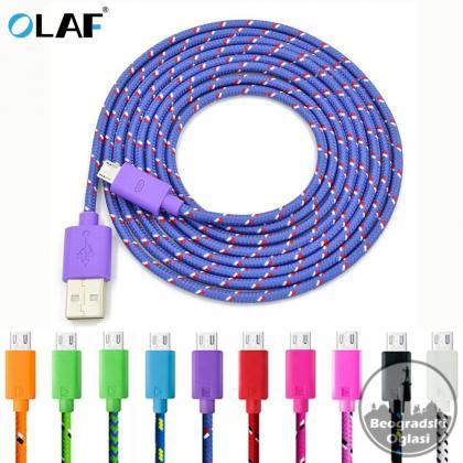 3 Metra USB kabel za punjenje i prenos podataka za Android