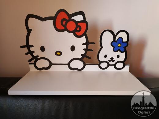 Dečija Polica Kitty & Bunny