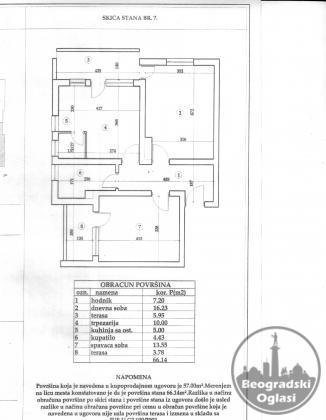 Dvosoban stan u Vrnjačkoj Banji