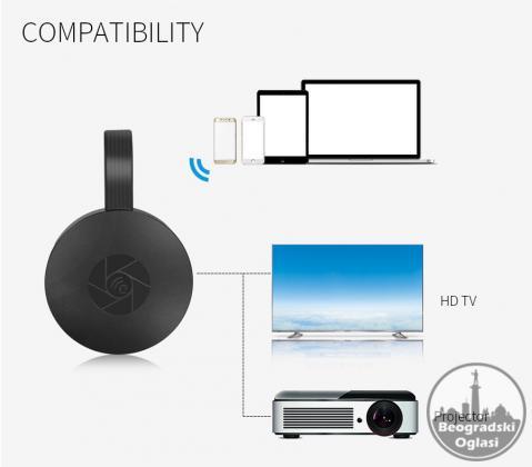 MiraScreen G2 TV, Wireless WiFi Display, DLNA, 1080P