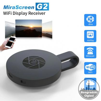 MiraScreen G2 TV, Wireless WiFi Display, DLNA, 1080P