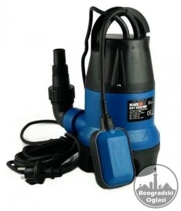 Potapajuca muljna pumpa Black 750w
