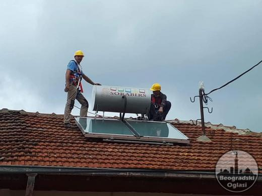 SOLARNI SISTEMI za zagrevanje vode - Sorabi RS