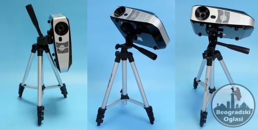 Stativ za Projektor + Torba za Stativ + Držač za Telefon