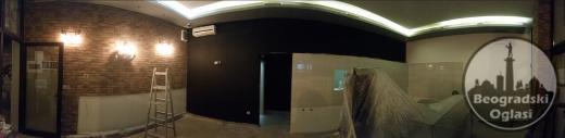 Molerski radovi, adaptacije, visinski radovi, stolarija, laminat...