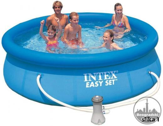 Intex easy set bazeni sa prstenom
